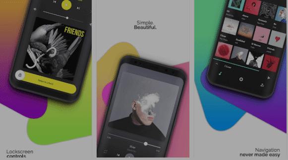 تحميل تطبيق Retro Music Player لتشغيل الصوت للاندرويد