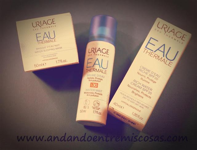Productos de Uriage para hidratar la piel