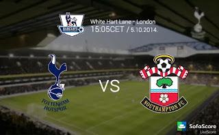 Southampton vs Tottenham Hotspur, Premier League