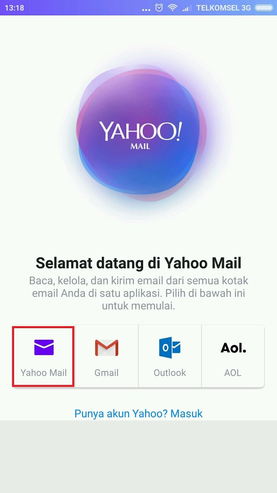 Buat Email Baru di Yahoo Gratis   Daftar Yahoo Mail Lewat