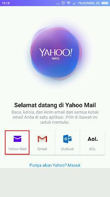 Buat Email Baru di Yahoo Gratis | Daftar Yahoo Mail Lewat Hp