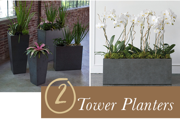 Accent Decor Bestseller: Tower Planters