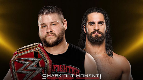 WWE Clash of Champions PPV Owens vs Rollins Universal Championship