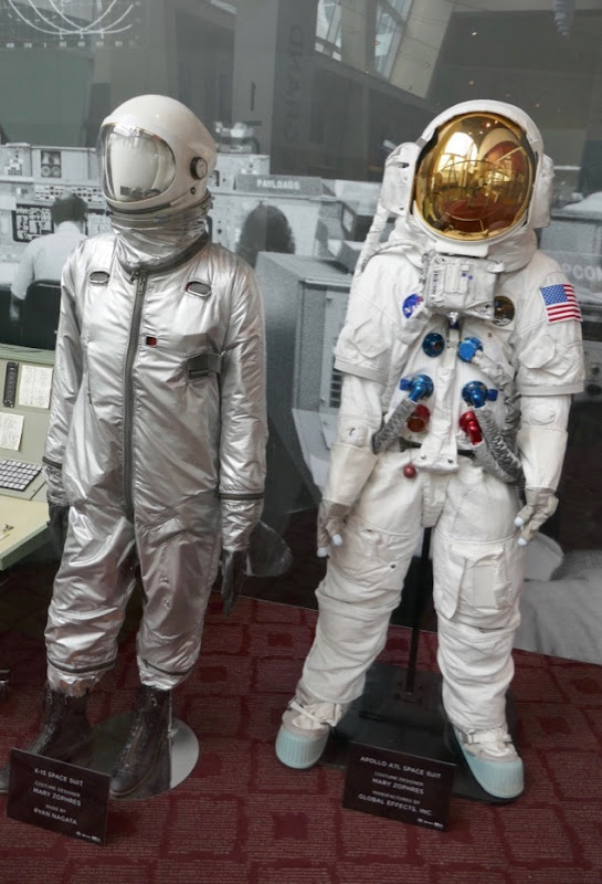 First Man film spacesuits