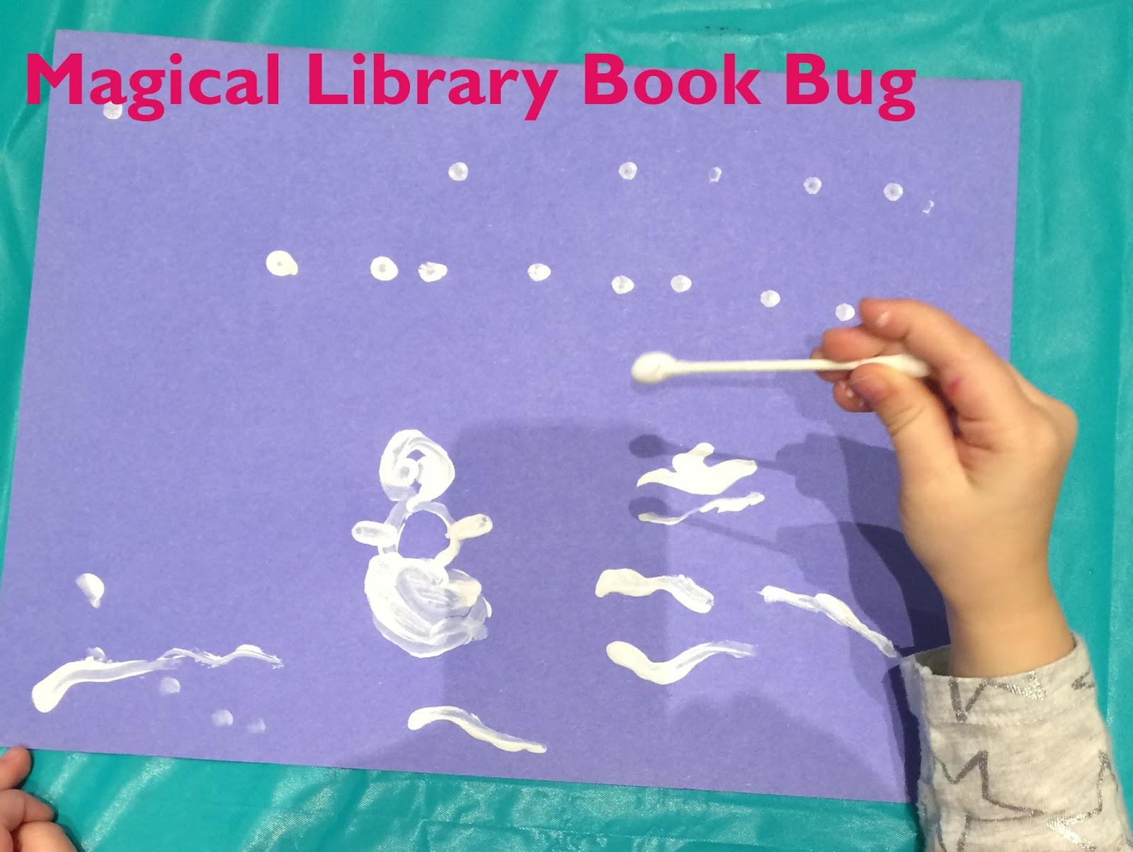 Magical Library Book Bug