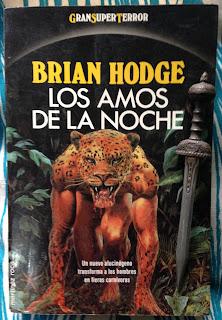 Portada del libro Los amos de la noche, de Brian Hodge