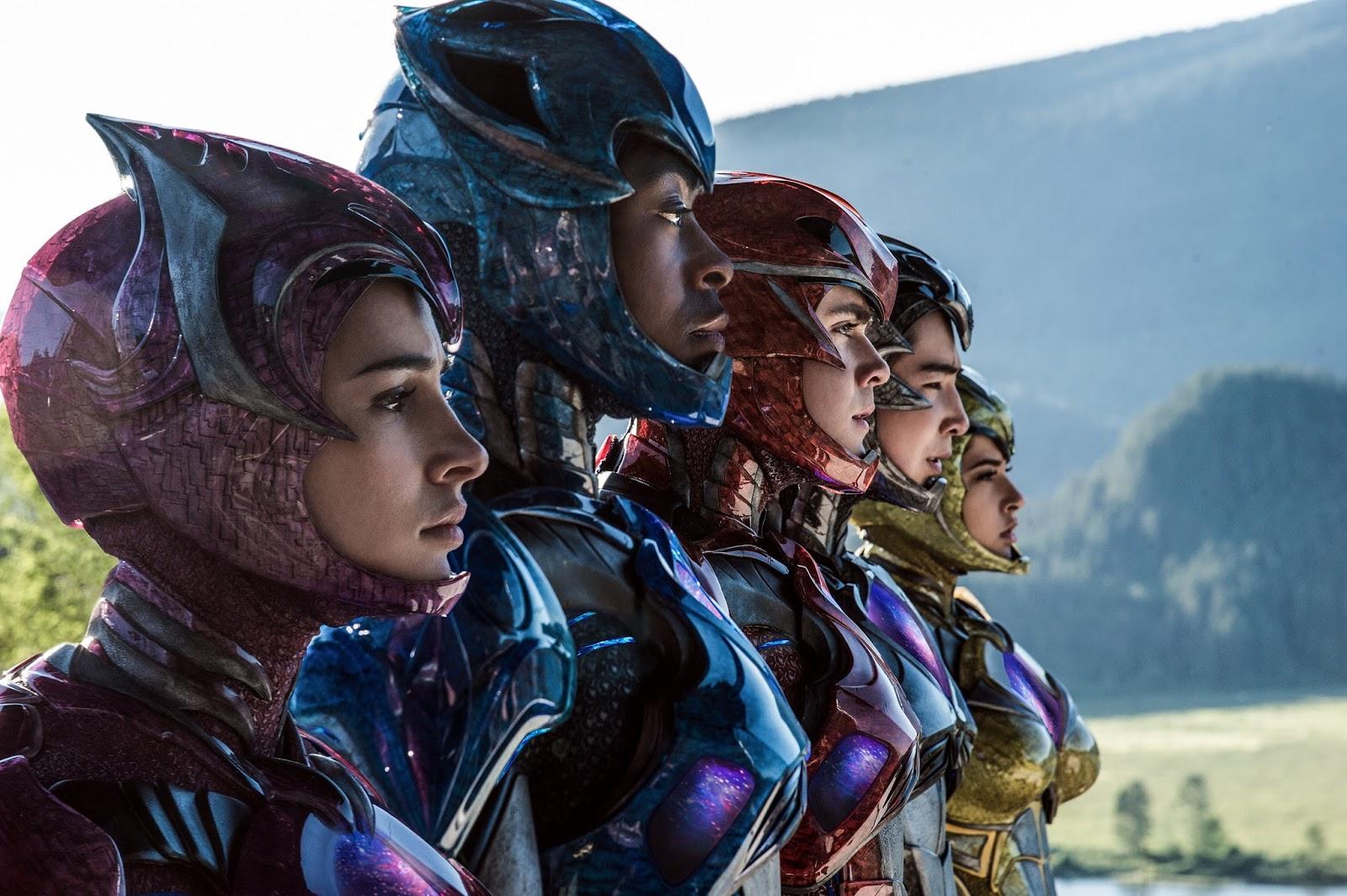 Cinema// Dois novos trailers do filme dos Power Rangers