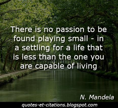 citation passion de vivre
