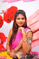 Lucky Sree in dasling Pink Saree and Orange Choli DSC 0344 1600x1063.JPG