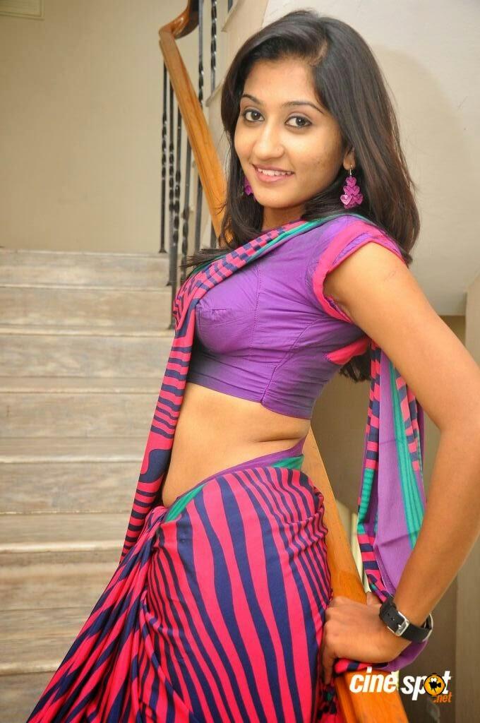 Actress Akshaya Hot Navel Show  Hot Navel Pictures Of Actress-3719