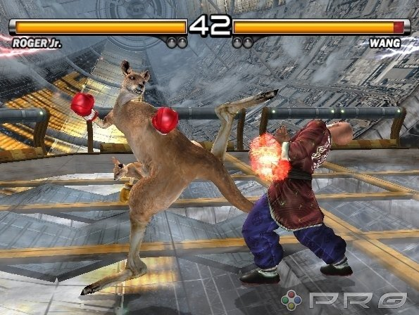 Tekken 5 PS2 GAME ISO Screenshot 1