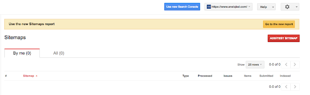cara submit sitemap google