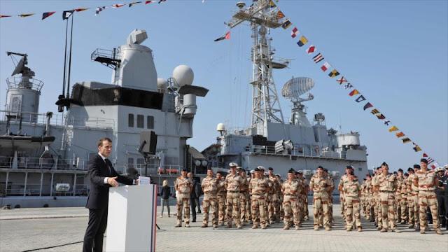Macron desde Golfo Pérsico: Daesh será derrotado en Irak y Siria