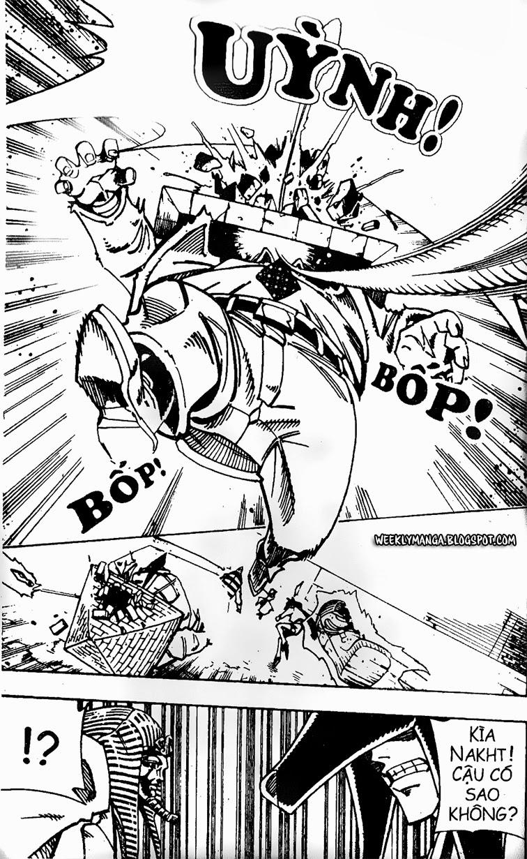 Shaman King [Vua pháp thuật] chap 121 trang 20