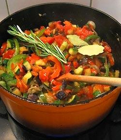 Mes recettes de cuisine la ratatouille ni oise - Cuisiner la ratatouille ...