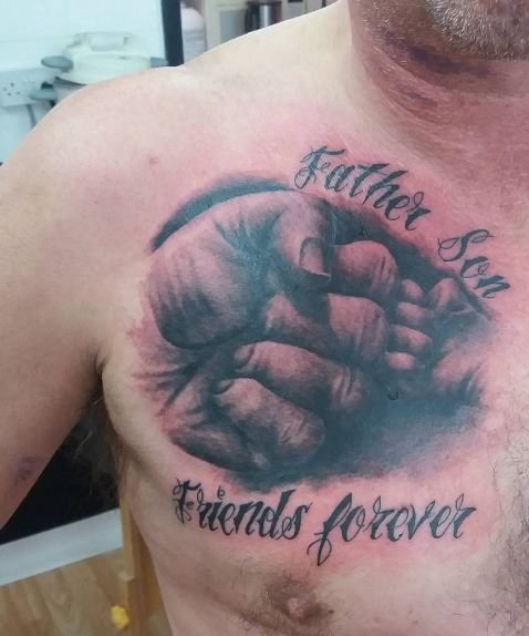 Tattoo Quotes For Your Son: 50+ Adorable Father Son Tattoos For Men (2018