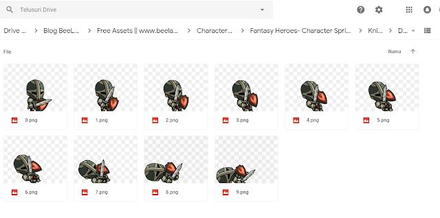 Inilah Kumpulan Website dan Assets Game 2D