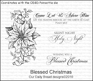 Our Daily Bread Designs - Stamps Blessed Christmas