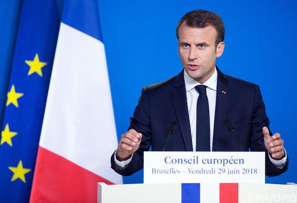 Макрон про відносини ЄС з Росією: Ми не можемо ігнорувати досі не вирішені проблеми, пов'язані з Україною