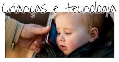 Crianças brincadeiras x tecnologia