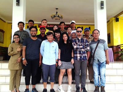 Artis Band Cokelat Acara Pemerintah Daerah