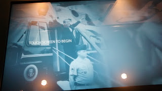 interactive station at Peabody Awards Collection