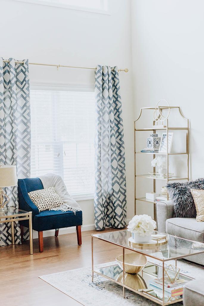 J Petite: Living Room Reveal