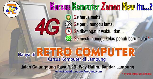 Kursus Komputer Jaman Now