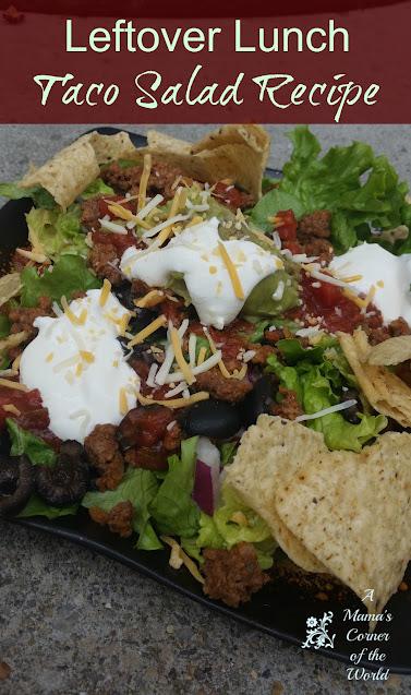 Pinnable Taco Salad Recipe Idea