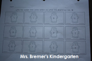 Gingerbread Man literacy centers for Kindergarten- perfect for December!