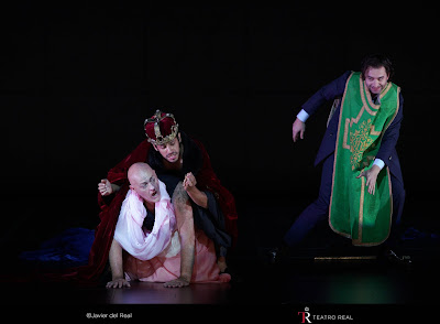 Ginastera: Bomarzo - John Daszak, German Olvera, Damiano del Castillo - Teatro Real, Madrid (Photo Teatro Real)