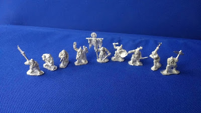 First miniatures from the Master mould