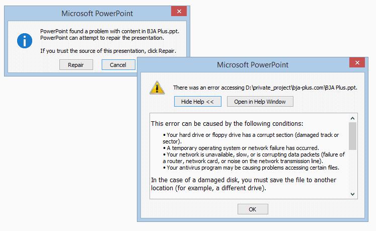 Cara Memperbaiki File Powerpoint Yang Rusak Catatan Bang Hery