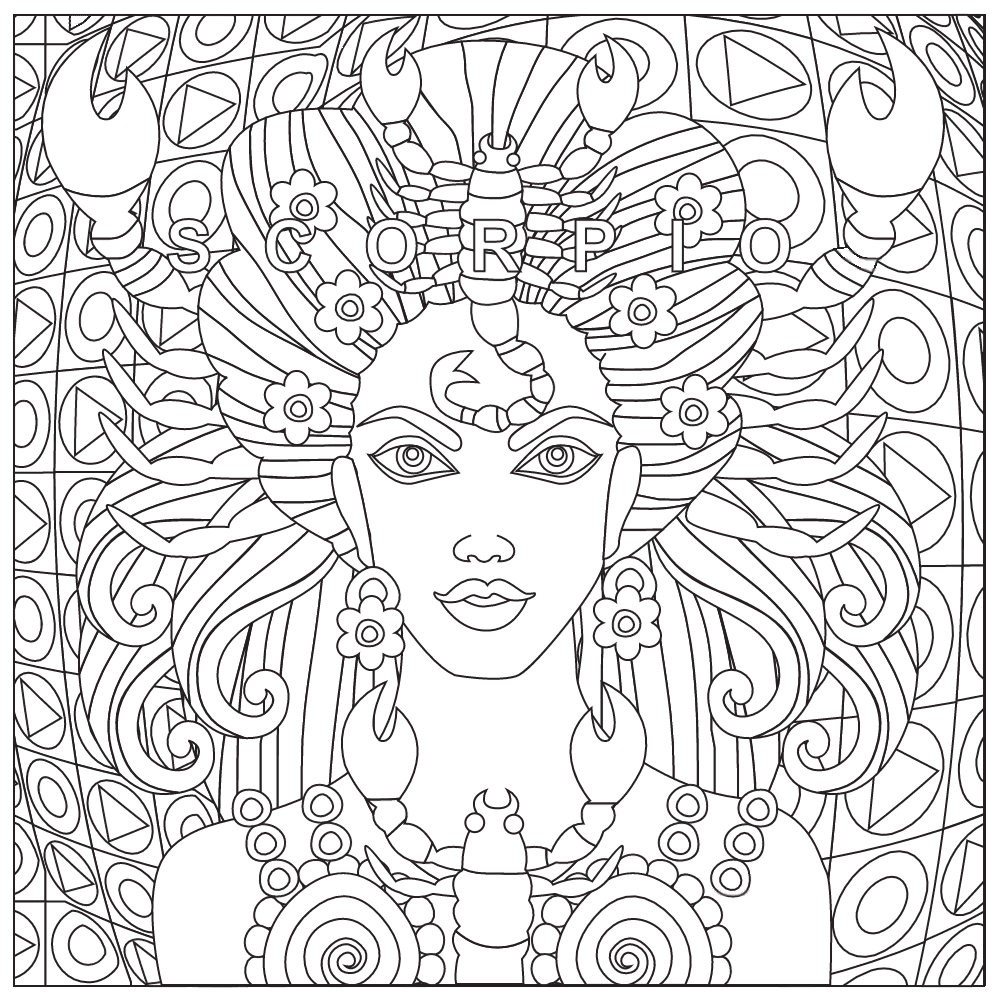 Adult Coloring Pages Free Download