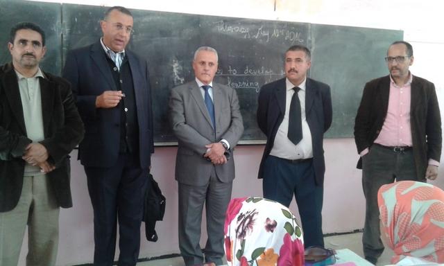 """مديرية سيدي بنور وشركائها يعطون انطلاقة حملة التحسيس بأهمية السلوك النزية بثانوية """"عمر بن عبد العزيز"""" بالزمامرة"""