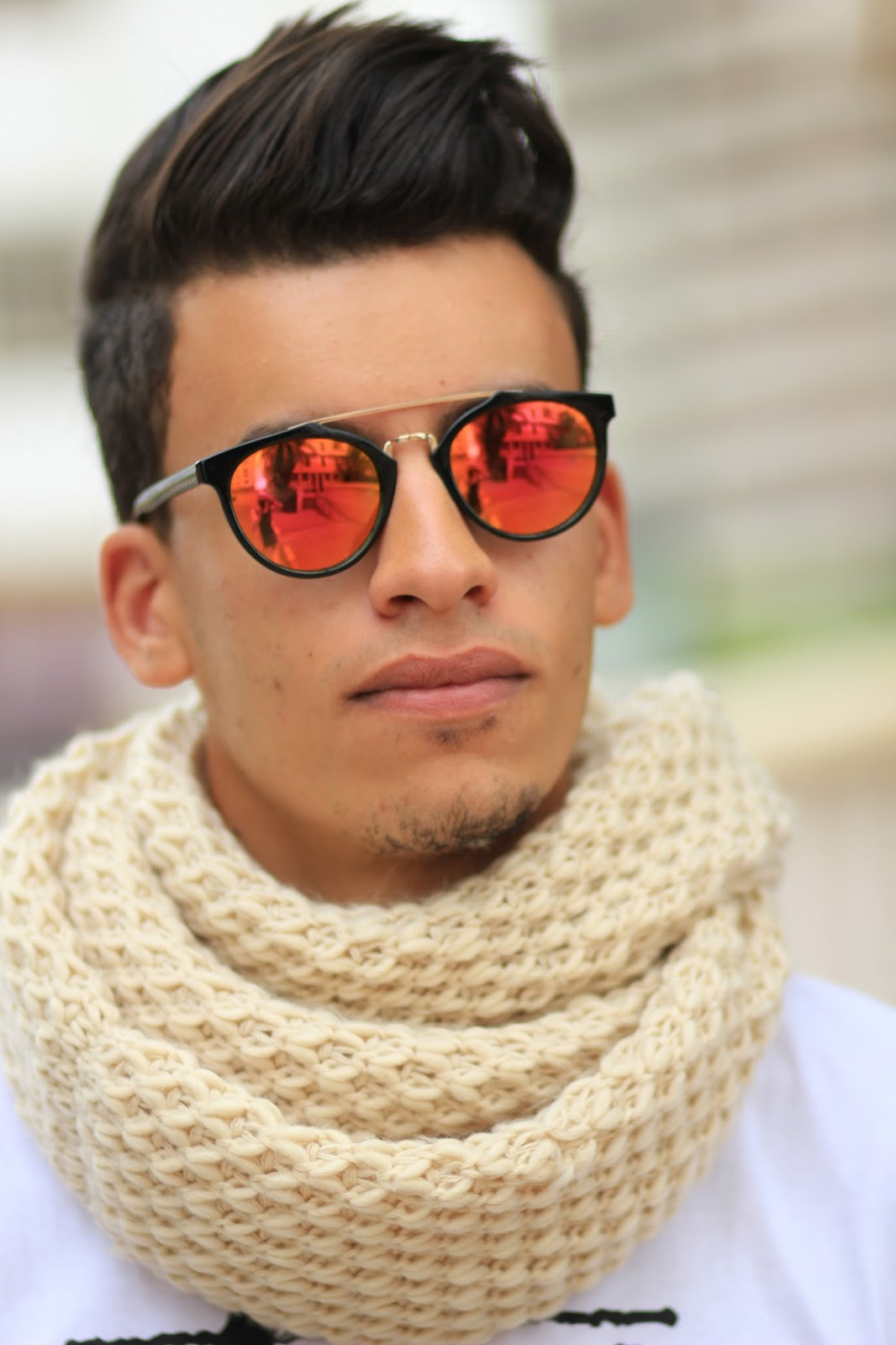 Espada Yassine wearing Emblem Eyewear Sunglasses