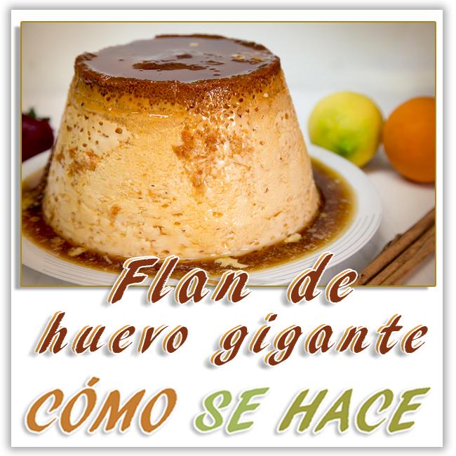 FLAN DE HUEVO C...
