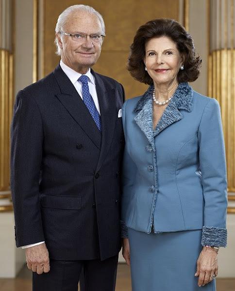 Crown Princess Victoria, Princess Estelle, Prince Oscar, Sofia Hellqvist, Prince Alexander, Princess Madeleine, Princess Leonore, Prince Nicolas