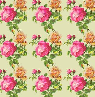 rose flower background artist paper
