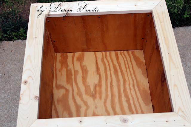 deck planter, Kreg Jig, planter boxes, wood project, Building project,  diyDesignFanatic.com