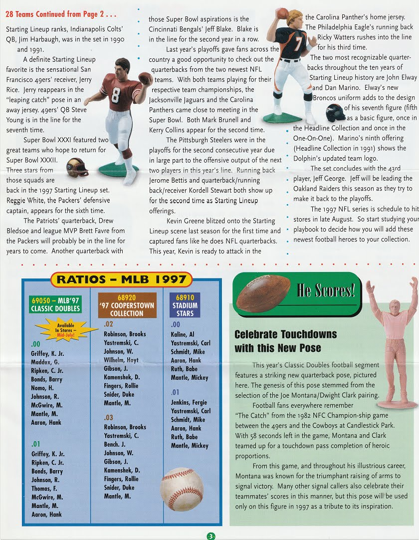 "1997  DUKE SNIDER SLU Starting Lineup -/""COOPERSTOWN/"" Brooklyn Dodgers"