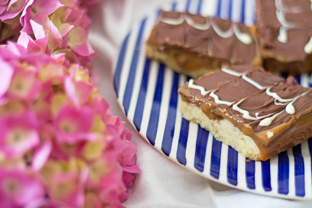Easy Salted Caramel Millionaires Shortbread Recipe