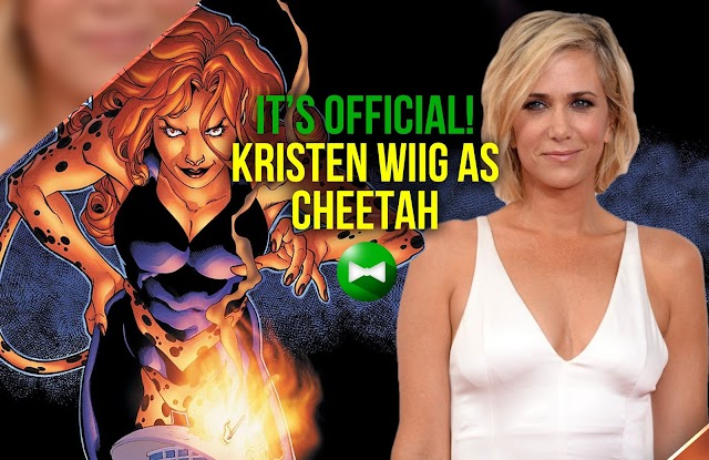 """Wonder Woman"" director Patty Jenkins confirms Kristen Wiig as Cheetah"