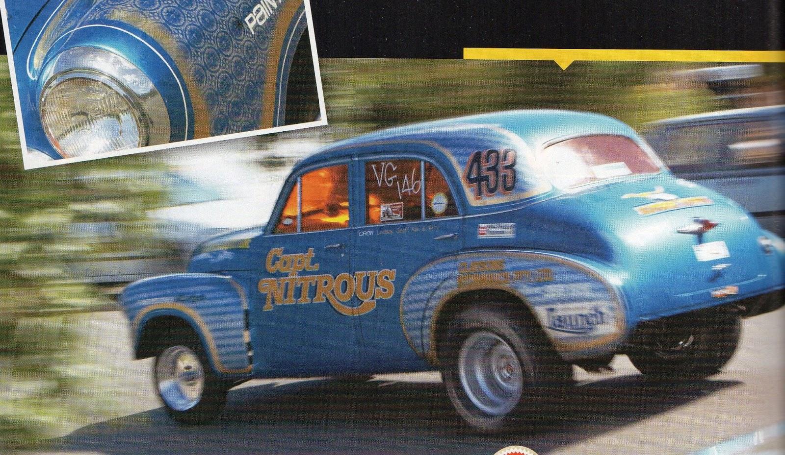 Captain Nitrous and Mr Terrific ~ Holden Grey Motor