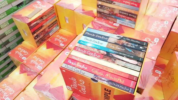 Paulo Coelho Book Set is selling like hot cakes