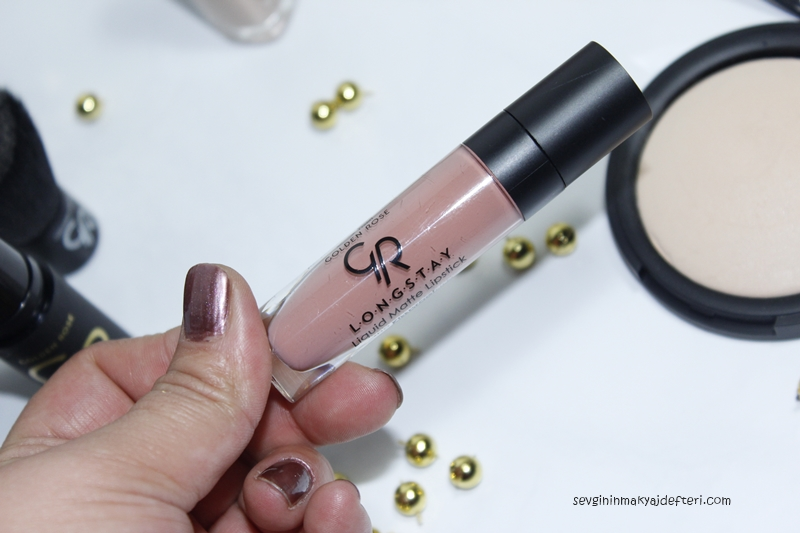 Golden Rose Longstay Liquid Matte Lipstick- Golden Rose makyaj Ürünleri-www.sevgininmakyajdefteri.com.jpg