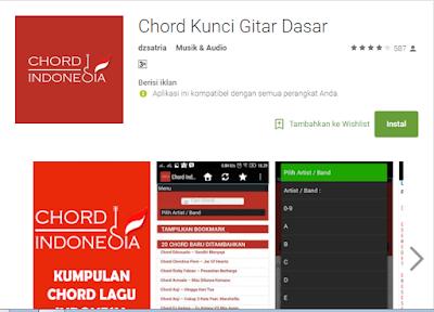 Aplikasi Kunci Gitar Terlengkap