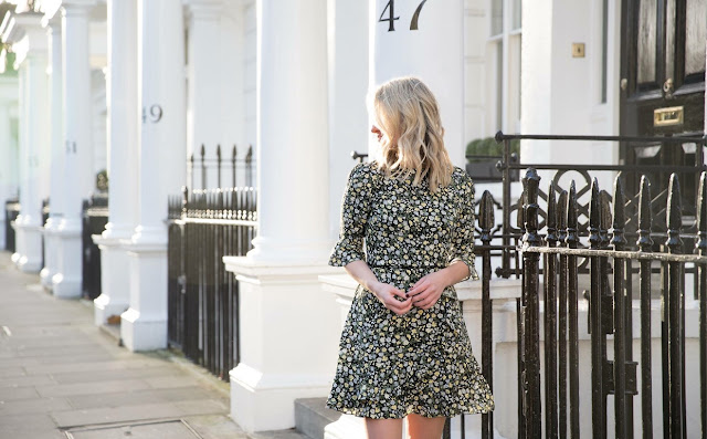 oasis fashion, spring wardrobe staples, tea dresses, London street style