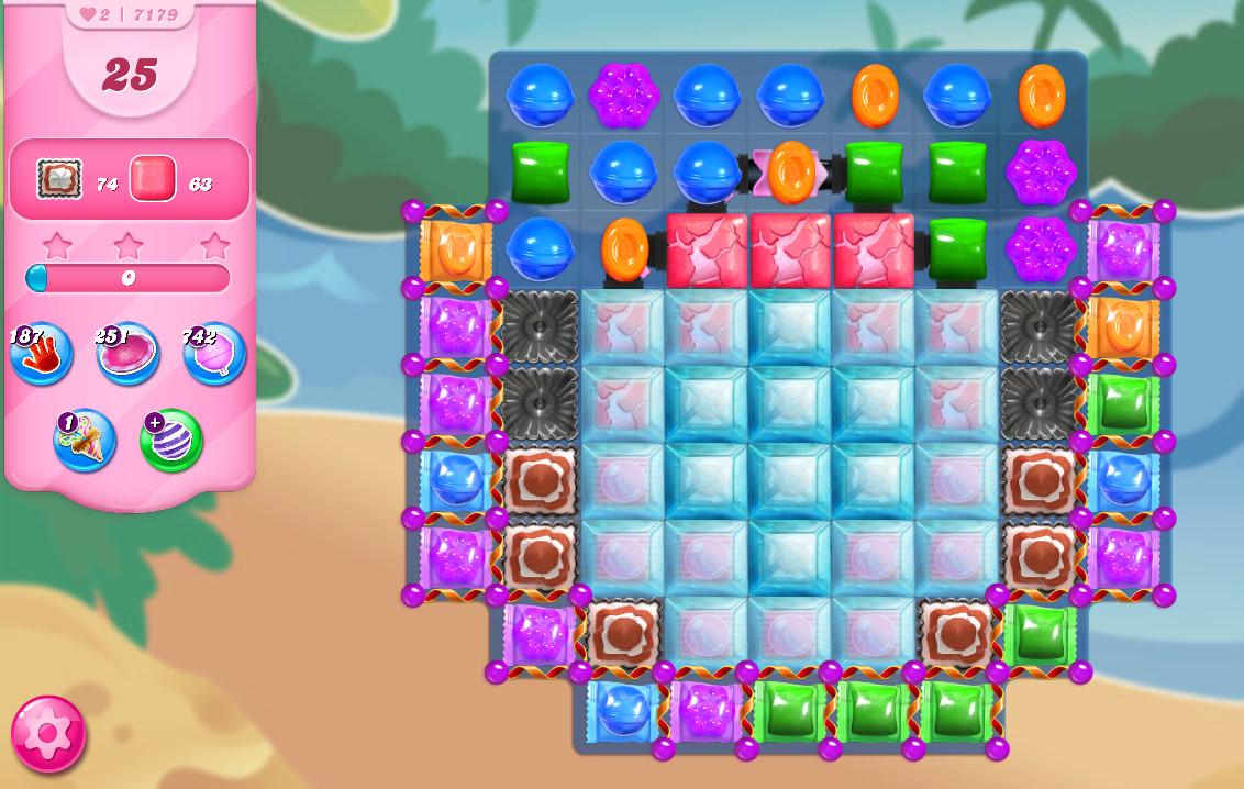Candy Crush Saga level 7179