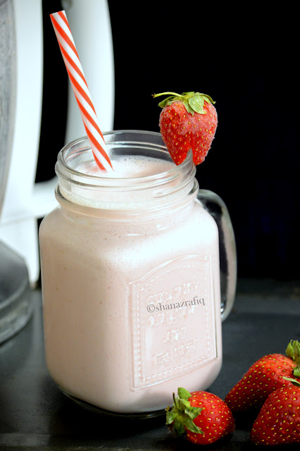Strawberry Honey Yogurt Drink